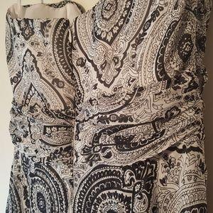 White House Black Market Dresses - White House Black Market Lined Strapless Dres